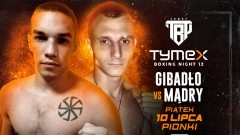 Denis Mądry powalczy na TYMEX Boxing Night 12