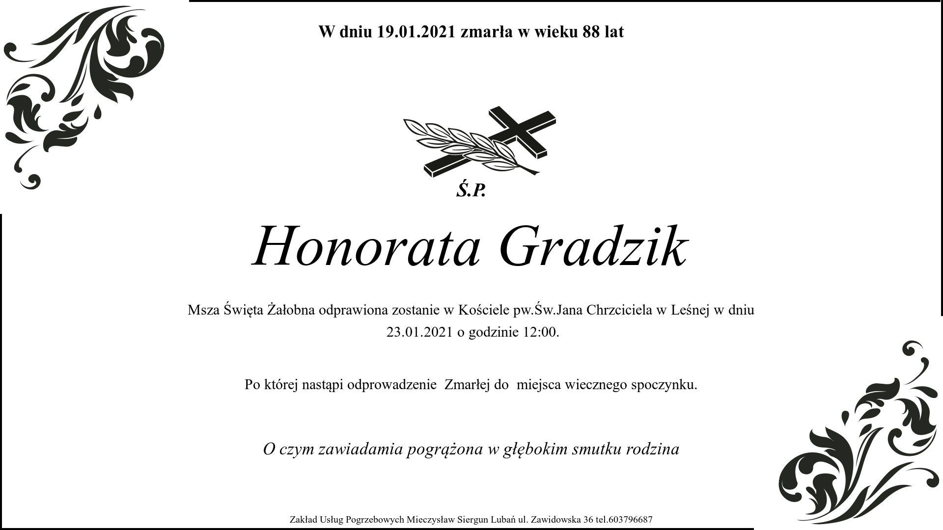 Honorata Gradzik